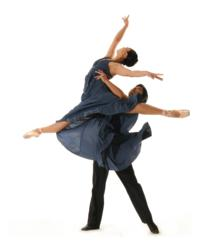 Ballet dancers Mayo Sugano &amp; Derek Sakakura from November 2012 performance. Credit: Ashraf